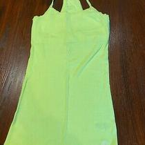 Junior Girls Bright Yellow T Back Tank Top Size M Aeropostale Brand Good Cond Photo