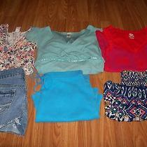 Junior Girls Lot of 6 Clothes Size 0xss Nwot Candiesexpressamerican Eagle Photo