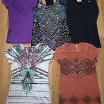 Junior's Hollister No Boudries Express American Age Vintage Tops Lot Size Xs Photo