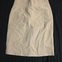 Juniors Tan Pencil Skirt Photo
