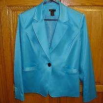 Junior's/women's Grace Elements  Jacket/blazer-Sz 12-Blue Photo