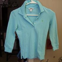 Juniors Abercrombie & Fitch Polo Shirt Top Xs Extra Small Photo