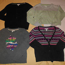 Juniors Aeropostale Lot of 4 Winter Sweaters-Excellent Condition- Sz L/xl Photo