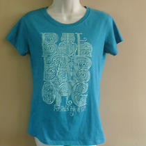Juniors Billabong Graphic T Shirt Blue L Photo