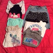 Juniors Clothing Lot Photo