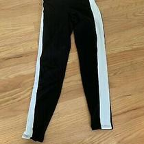 Juniors Express Brand Size Xs Black and White Legging Pants Photo