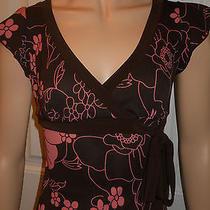 Juniors Floral Print Dress Short Sleeve Xoxo Size Small Vguc Photo