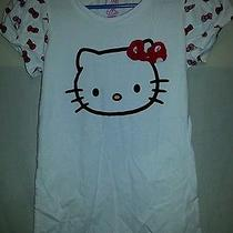 Juniors Hello Kitty T Shirt Sz M Photo