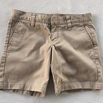 Juniors Hurley Shorts Size 3 Khaki Beige Bermuda Walking Shorts Photo