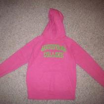 Juniors Jansport Augustana College Pink Hoodie Size Medium Photo
