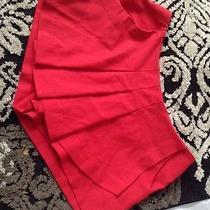 Juniors Pleated  Shorts Size 3 Vera Wang Red Like New Hot Kohls Photo