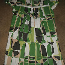 Juniors Size 11 Ss Above Knee Length Multi Color Dress Roxy (B2) Photo