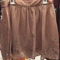 Juniors Size M Beige Forever 21 Skirt Photo