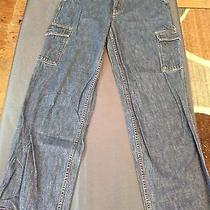 Juniors Tommy Hilfiger Straight Leg Wide Leg Jeans Size 10 Photo