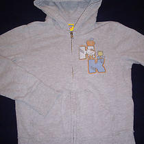 Junk Food Hello Kitty Girl's Hoodie Large 10/12 Distressed Sweatshirt  Photo