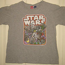 Junk Food Kids Shirt Xxl (14-16) Star Wars Luke Vintage Style Retro Gap Kids Oop Photo