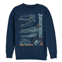 Jurassic World Fallen Kingdom Men's Fossil Skulls  Sweatshirt Photo
