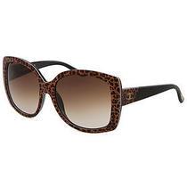 Just Cavalli Jc500s-55f-58-17 Women's Butterfly Cheetah Sunglasses Photo