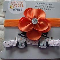 Just One You by Carter's Halloween 3pc Hair Set for Infant Girlsnew in Package Photo