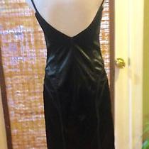Just Roberto Cavalli Italian Sz 44 Sexy Black Corset Dress Photo