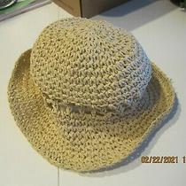 Just Uisted Beige Straw Urban Outfitters Hat Photo