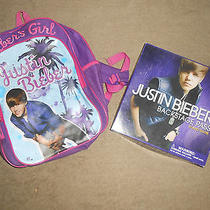 Justin Bieber Backpack & Backstage Pass Board Game Photo