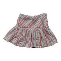 K.c. Parker Fun Striped Skirt Size 10 Photo
