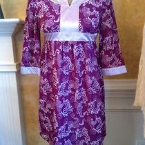 K.c. Parker Violet Dress Size 12 Photo