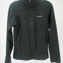 K2728 Columbia Women's Full-Zip Fleece Jacket Size M Photo