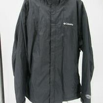 K3405 Vtg Columbia Sportswear Full-Zip Windbreaker Jacket Size 2xl Photo