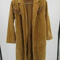 K6668 Costume Express Western Long Fringed Costume Coat Size S  Photo