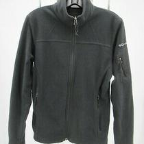 K6883 Vtg Women's Columbia Full-Zip Solid Fleece Jacket Size S  Photo