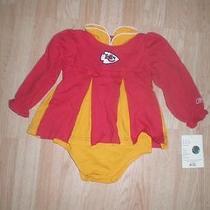 Kansas City Chiefs 24 Mo Nwt Cheer Outfit Reebok Photo