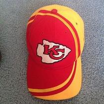 Kansas City Chiefs Baseball Style Cap. Osfm. Red Gold White Black. by Reebok Photo