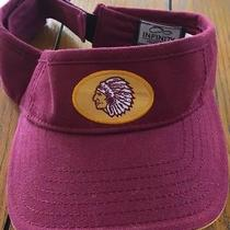 Kansas City Chiefs Nfl Adult Pre Shape Sun Visor Adj Velcro Hat by (Infinity) Photo