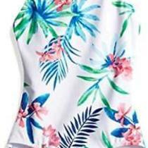 Kanu Surf Big Girls' Chloe Beach Sport 1-Piece Swimsuit Multicolor Size 14 Je Photo