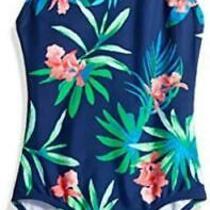 Kanu Surf Big Girls' Chloe Beach Sport 1-Piece Swimsuit Multicolor Size 14 Y3 Photo