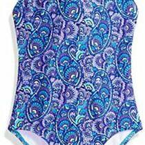 Kanu Surf Big Girls' Chloe Beach Sport 1-Piece Swimsuit Purple Size 14 10kf Photo