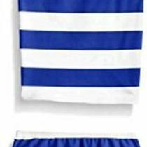 Kanu Surf Little Girls' Toddler Layla Stripe Tankini Swimsuit Blue Size 4.0 R Photo