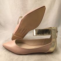 Kardashian Collection Fenella Blush Gold Ankle Cuff Flat - Women's Size 9m-Great Photo