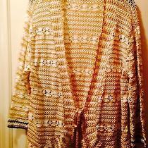 Karen Kane Crochet Cardigan Photo