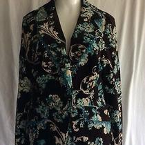 Karen Kane Lifestyle Velvet Blazer Size 8 Photo