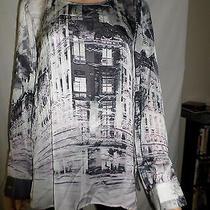 Karen Kane Long Sleeve Graphic Print L Photo