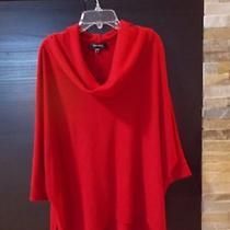Karen Kane Red Sweate Size M Red Photo