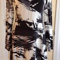 Karen Kane Shirred Dress    Size M Photo