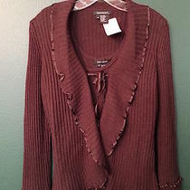 Karen Kane Twinset -- Size M -- Solid Brown  Photo