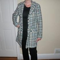 Karen Kane Unlined Lightweight Jacket Size M Acrylic Basic Jacket Photo