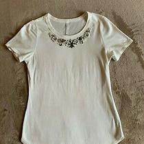 Karen Millen Women's Jewel Top. Size Uk 10. Excellent Condition Photo