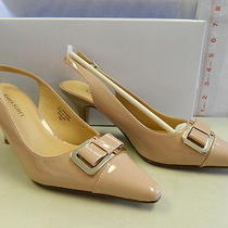 Karen Scott New Womens Newport Blush Slingback Heels 7 M Shoes Photo
