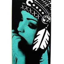 Karmaloop Connetic Native Tiffany for Iphone 5 and 5s Case Black & Mint Photo